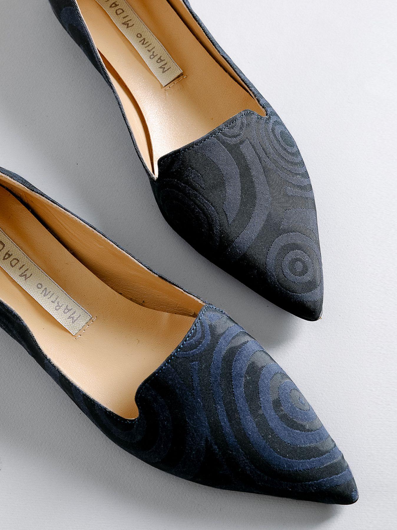 Pantofola con disegno jacquard