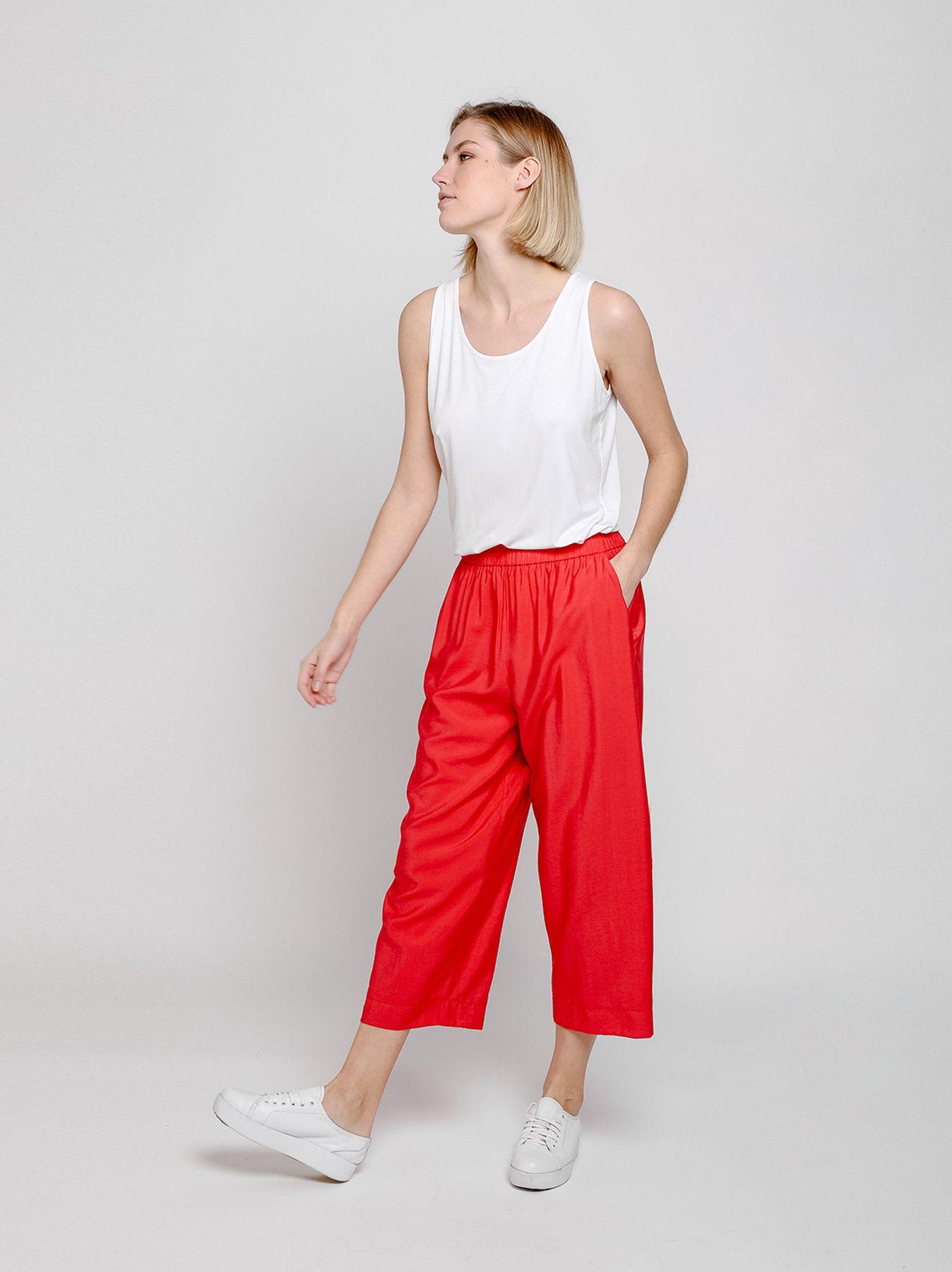 Pantalón midi