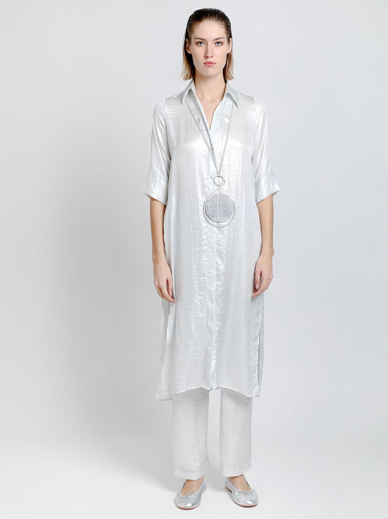Camicia lunga kaftano