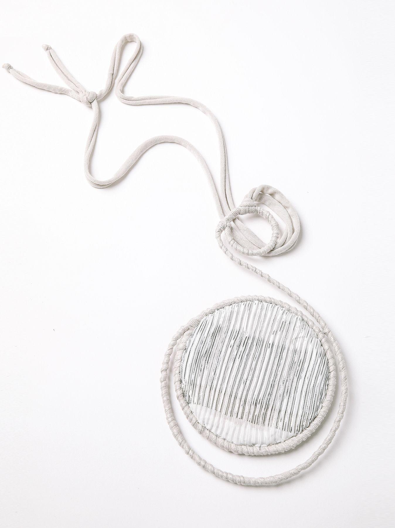 Collar circular plisado