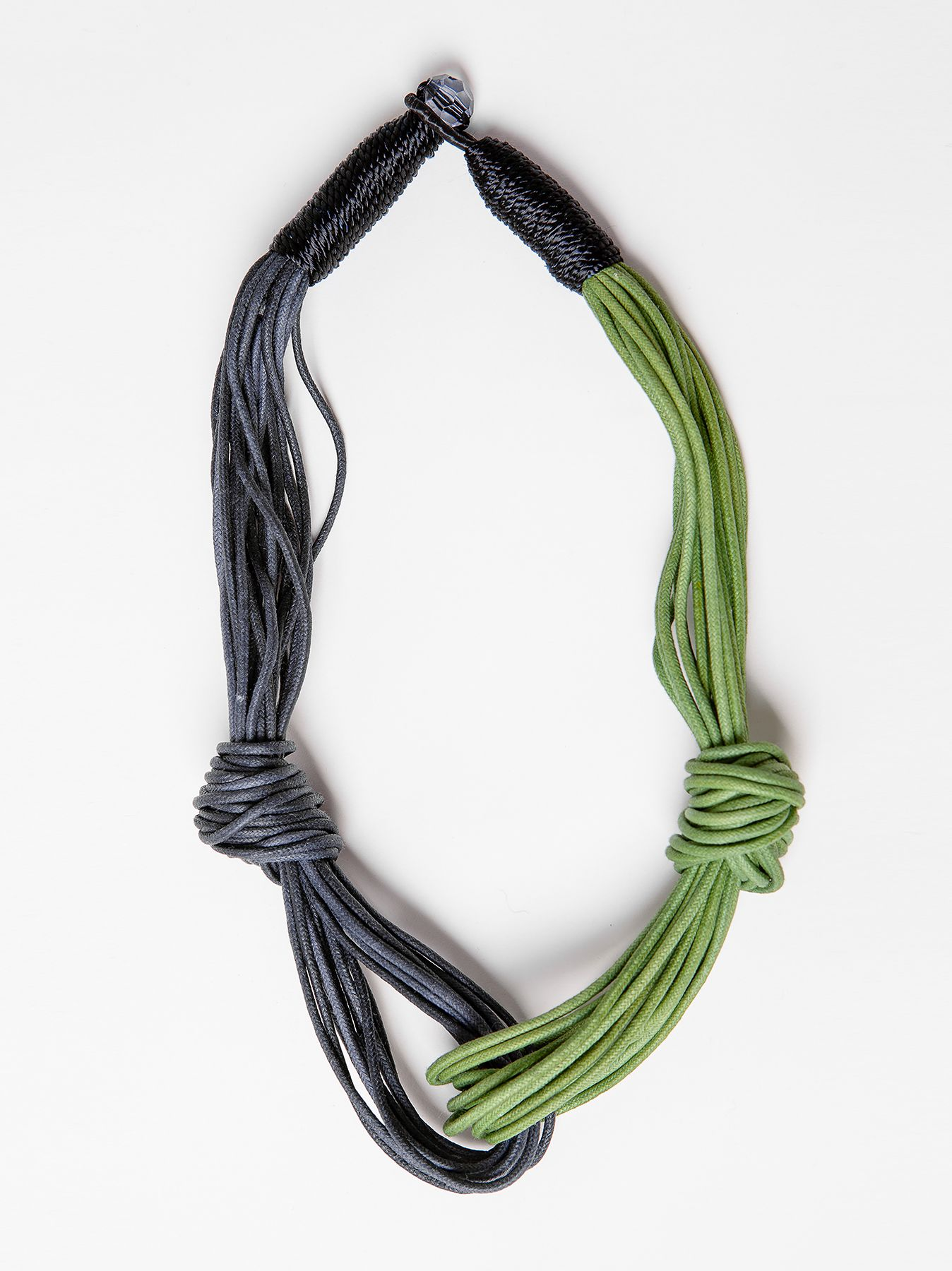 Collana bicolore